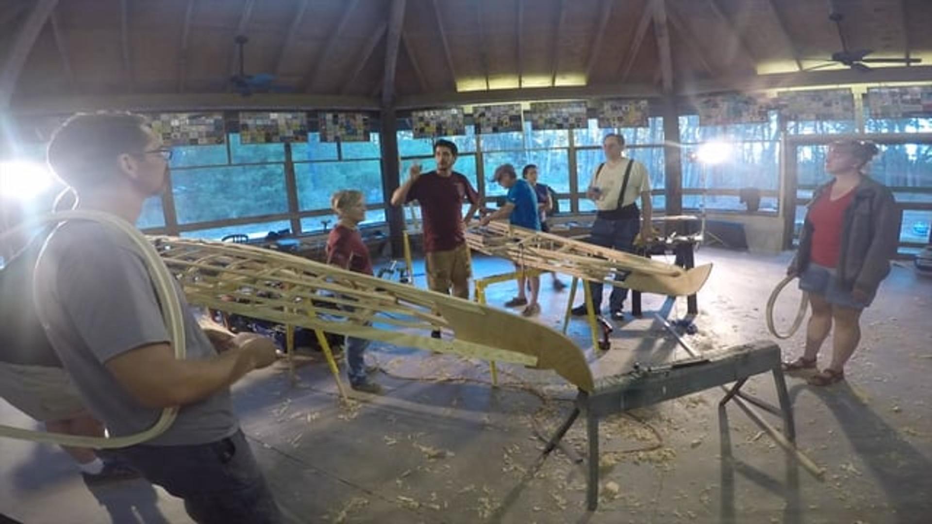 2017 Kayak Build