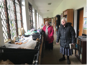 """""""Angels"""" at St Pauls church in Salford supply free food to vulnerable residents."""