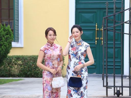 【澳門】旗緣澳門旗袍體驗店 ~台灣人開的時尚旗袍體驗店,讓你玩不一樣的澳門!很適合閨蜜、情侶來拍照