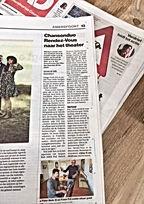 AD artikel Mannenzaal 18 april 2019