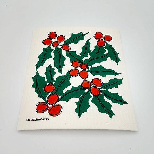 Holiday Swedish Dish Cloth