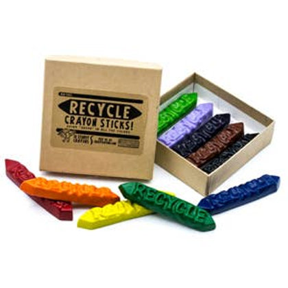 Recycle Crayon Sticks