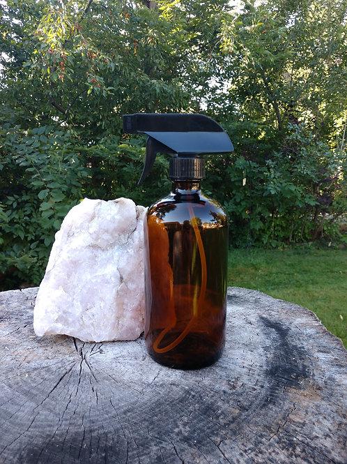 Brown Glass Spray Bottle