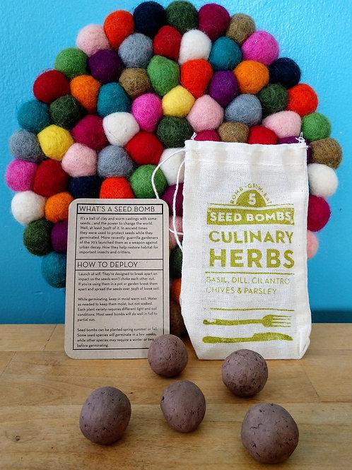 Culinary Seed Bombs