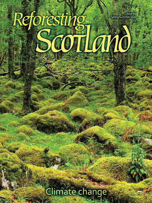 Reforesting Scotland journal Issue 61 - Climate Change