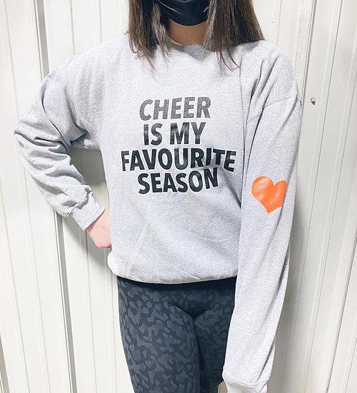 Cheer is my Favourite Season Crewneck