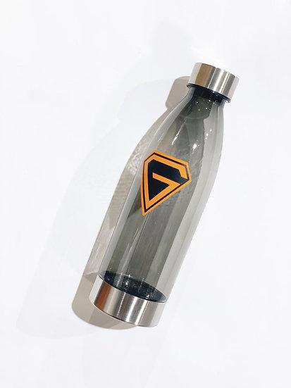 Translucent Black Water Bottle