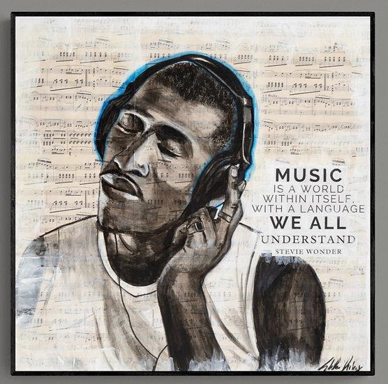 """Soul Music"" Canvas Print"