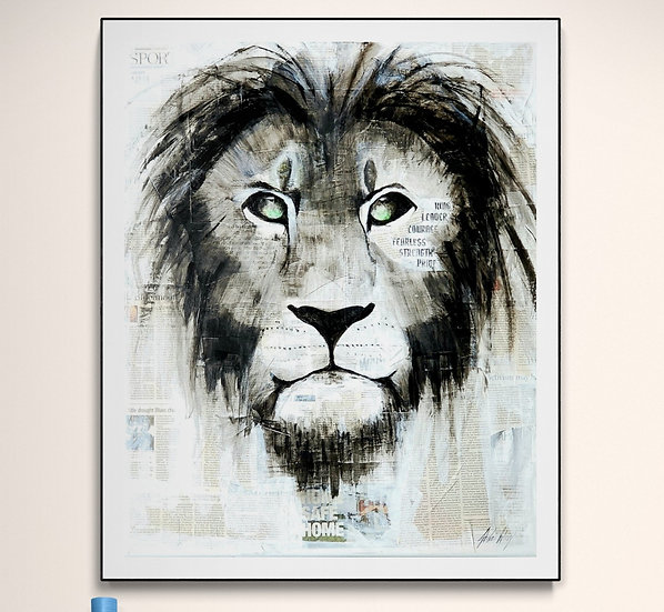 """""""King of the City"""" Canvas Print"""