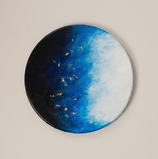 """Full Circle"" 10 Inch Canvas"