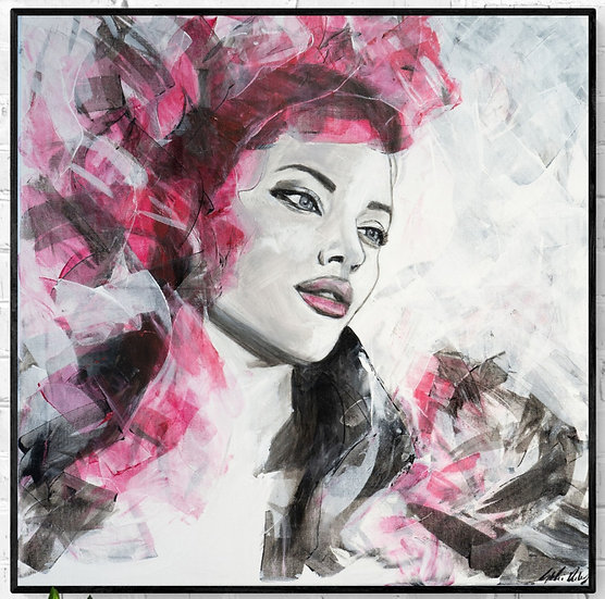 """Enchanted""  Canvas Print"