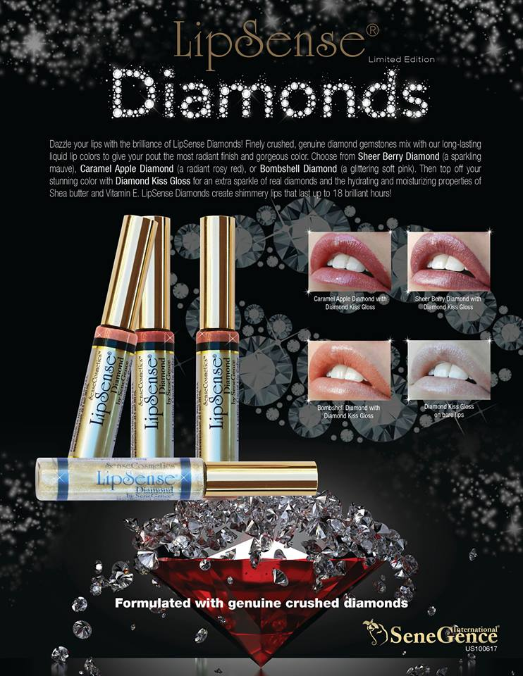 Limited Edition Lipsense Diamonds Collection Is Back In Stock Get