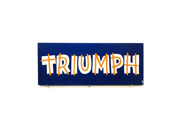 Triumph lettrage
