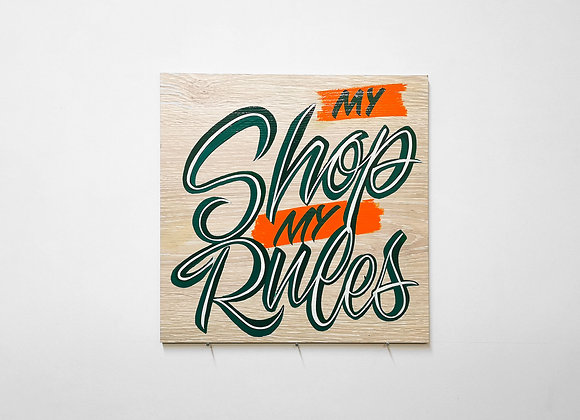 My Shop My Rules
