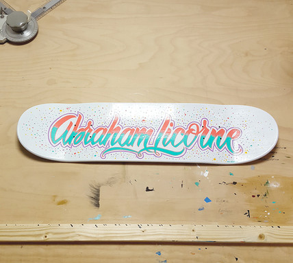 Abraham Licorne skate