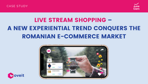 Live Stream Shopping – A New Experiential Trend Conquers The Romanian e-Commerce Market