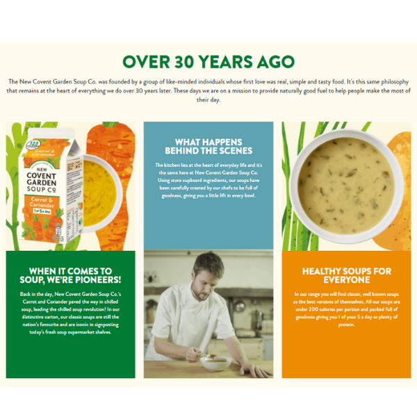 The New Covent Garden Soup Case Study