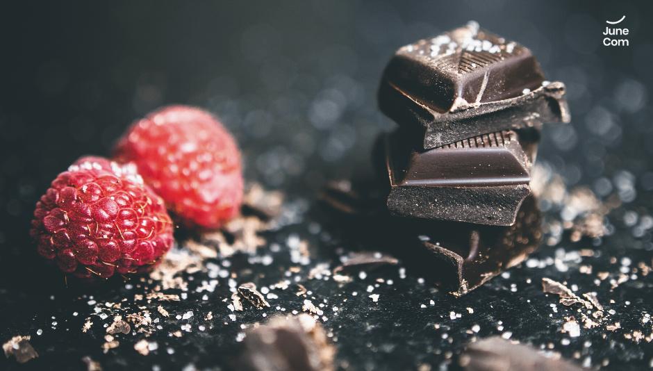 Ciocolata si zmeura