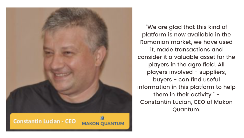 Testimonial from Constantin Lucian - CEO of Makon Quantum for Commoditrader, written by JuneCom