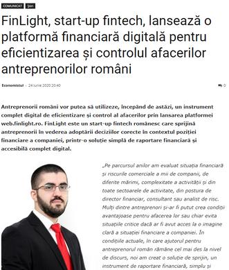 Press release on Economistul