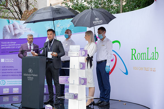 Lansare NE TESTAM DIN ROMANIA, o initiativa pentru combaterea nationala a pandemiei generate de virusul SARS-CoV-2