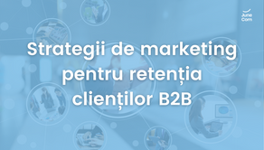 Strategii de marketing pentru retenția clienților B2B