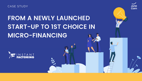 From a Newly Launched Start-up to 1st Choice in Micro-Financing: Instant Factoring Case Study