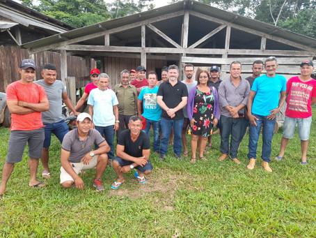 Prefeito Sérgio Lopes visita comunidades Rurais em Epitaciolândia e garante melhorias em ramais