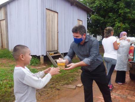 Prefeitura Distribui sopa para famílias em Epitaciolândia
