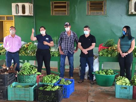 Agricultura familiar - prefeitura e CONAB beneficia 10 famílias no Ramal da Torre