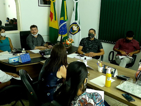 Prefeito Sérgio Lopes se reúne com secretários para planejar ações de governo nos próximos dias
