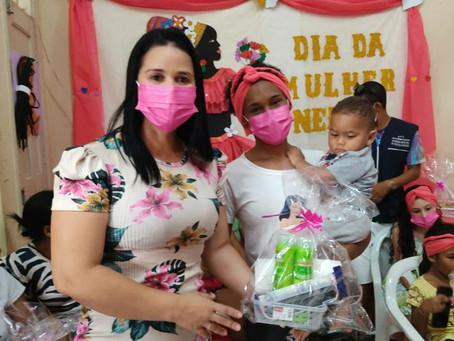 """Prefeitura realiza """"Dia de ação pra mulheres negras em Epitaciolândia"""
