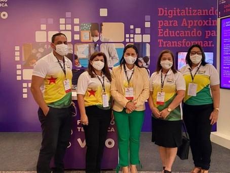 Secretária de Educação participa de Fórum da Undime em Brasília