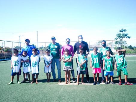 Prefeitura de Epitaciolândia fecha parceria com Escolinha de Futebol Resgatando Talentos