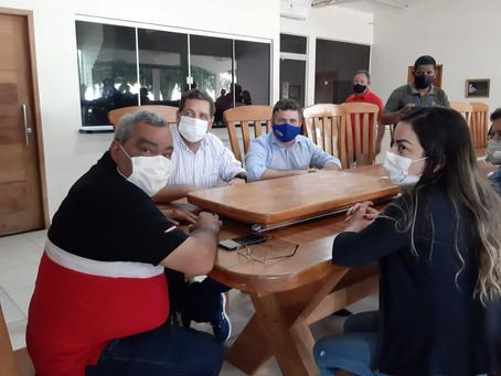 Prefeito de Epitaciolândia visita Sena Madureira e presta Solidariedade ao Colega de Gestão