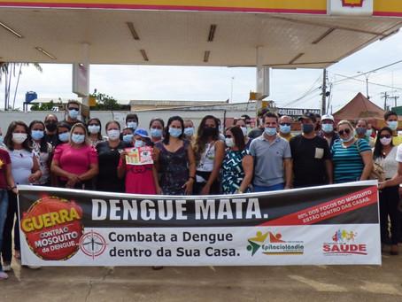 Prefeitura realiza caminhada de combate à dengue em Epitaciolândia