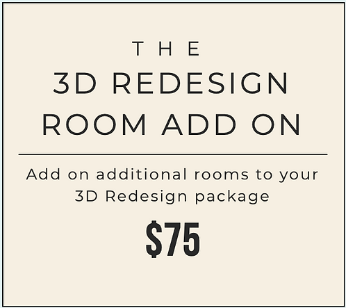 3D Redesign - Room Add On