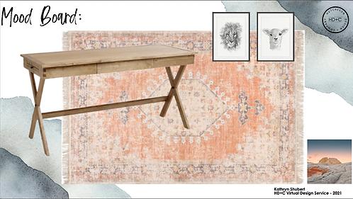 Kathryn Shubert - Home Office 3D Design