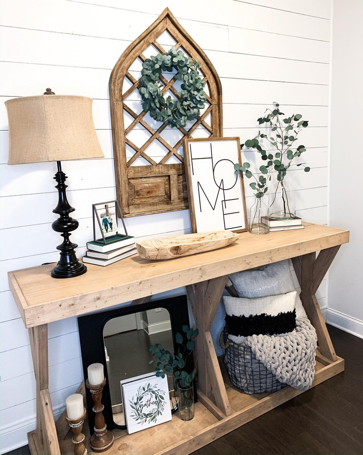 HH Custom Entry Way Table