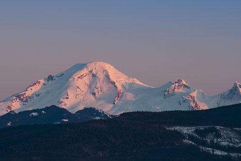 Golden Hour On Mount Baker