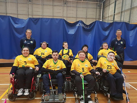 Australian Sliders Team 2018