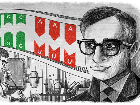 Har Gobind Khorana deciphered DNA and wrote the dictionary for our genetic language