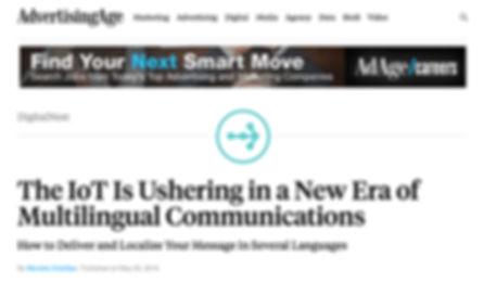 Advertising Age  LF Translations IoT