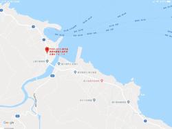 10 minutes walk from Miyanoura Port
