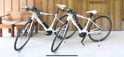 2 Yamaha electric sport bikes