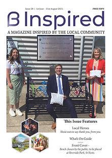 B Inspired Magazine June - August 2021 .