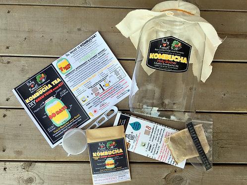 Caffeine FREE Kombucha Kit - 1 Gallon
