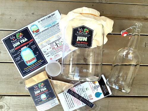 Jun Kombucha and Bottle Kit - 1 Gallon