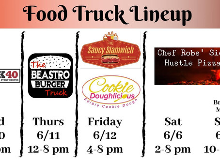 Week of 6/8 #foodtrucks