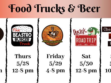 Food trucks this week